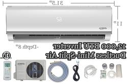 Innova 12,000 BTU Ductless Mini-Split Air Conditioner – In