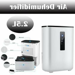 2.5L Portable Air Dehumidifier for Rooms Basement Bathroom k