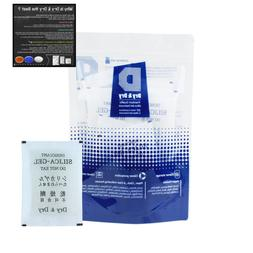 20 G Pack Of 10 Premium Quality Silica Gel Packets Desiccant