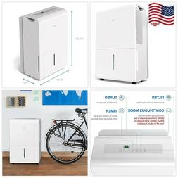 2500 Sq Ft Dehumidifier 50 Pint Energy Star Safe Mid Size Po
