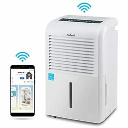 Ivation 4,500 Sq Ft Smart Wi-Fi Energy Star Dehumidifier wit