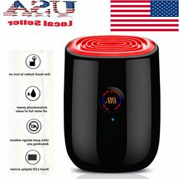 800ML Auto-off Electric Air Dehumidifier for Home Moisture A