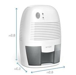 compact dehumidifier retsils got new without box