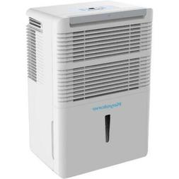 Dehumidifier 50-Pint with Electronic Controls in White Air M