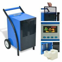 vidaXL Dehumidifier w/ Hot Gas Defrosting System LED Air Fil