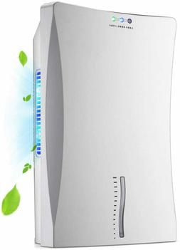 Deluxe Dehumidifier - Mid-Sized 1.2L Water Tank with Continu