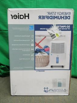Haier HEH50ET-L 50 Pint Digital Display Dehumidifier 2 Fan S