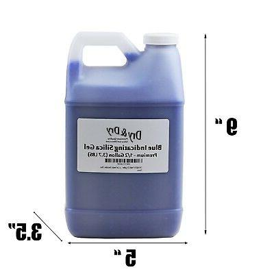 1/2 Gallon Replacement Desiccant Blue Indicating Gel Bead