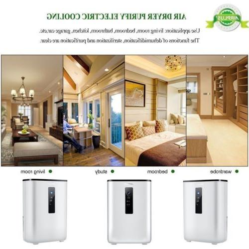 2.5L Home Electric Dehumidifier Semiconductor Absorbing
