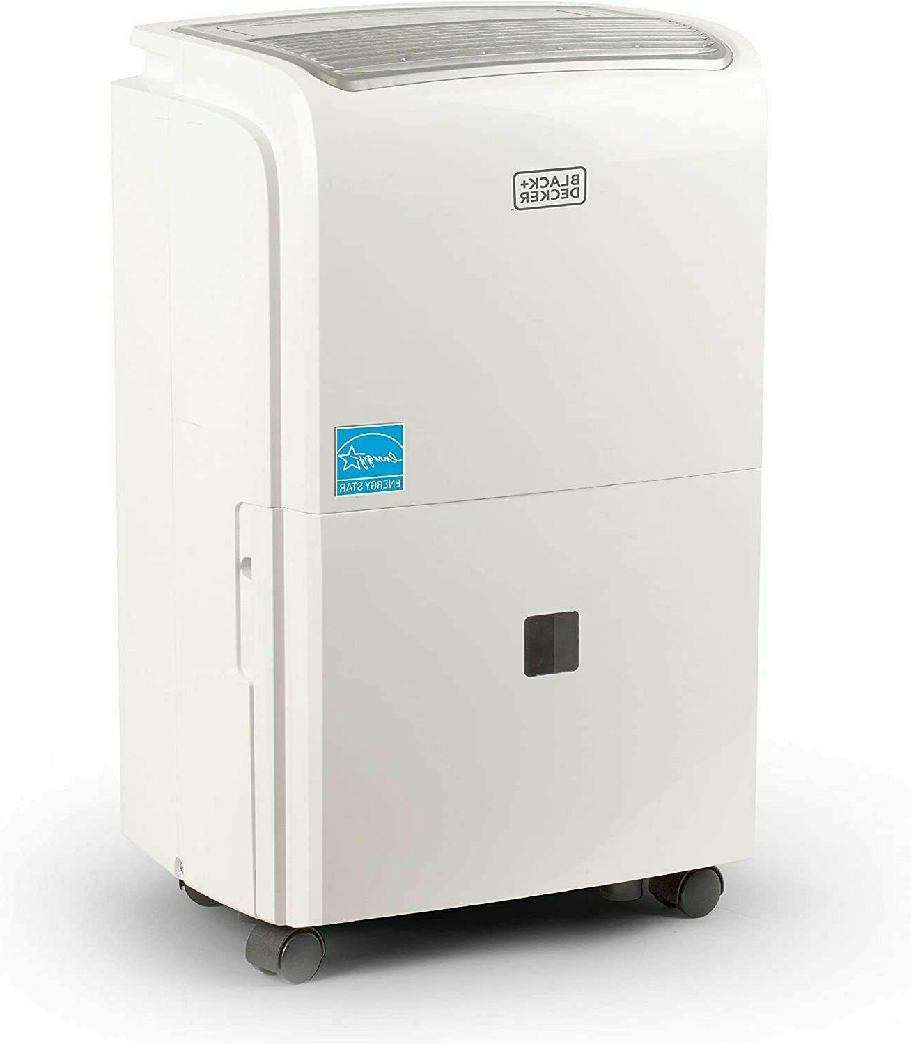 50 pint portable dehumidifier with built in
