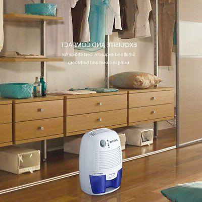 500ML Portable Dehumidifier Electric Quiet Dryer for Home US