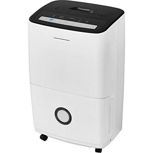 Frigidaire Bucket and Effortless Humidity Dehumidifier with Built-in Pump in White
