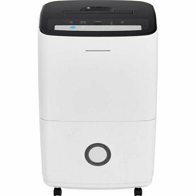 Frigidaire FFAP7033T1 70 13.1-Pint Bucket Mesh Filter and Effortless Control, Dehumidifier with in White