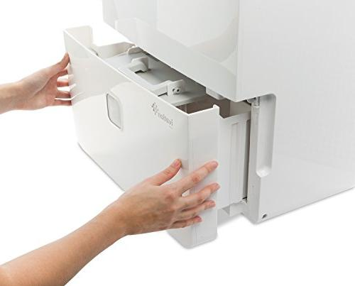 Ivation 95 Pint Star - For Spaces Up To Ft Includes Programmable Humidistat, Hose Shutoff Restart, Casters & Washable