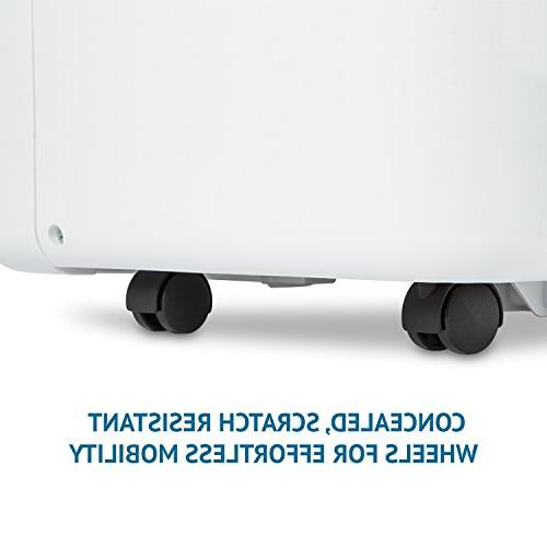 Ivation Energy Star Dehumidifier - Large-Capacity For Spaces Up To Sq Ft - Programmable Humidistat, Hose Connector, &