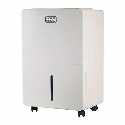 BLACK+DECKER BDT70WT 70 Pint Portable Dehumidifier, White