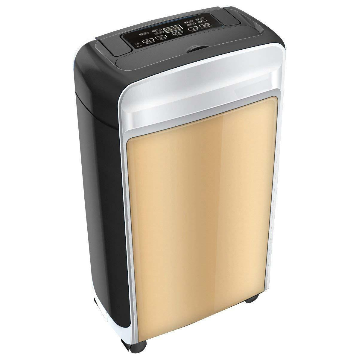 Eurgeen Mid-Sized 20 Pint Dehumidifier Whisper Quite for Sma
