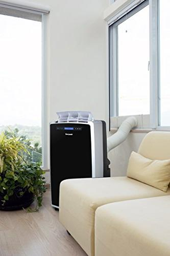 Honeywell 14000 Portable AC, Fan for Rooms Up 550-700 with Thermal Air Remote Control