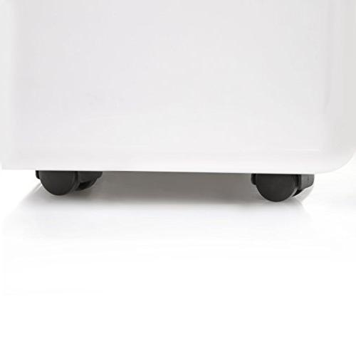 Ivation 70 Star Dehumidifier - For Spaces Up 4,500 Sq Includes Connector, Auto Casters & Filter, White,