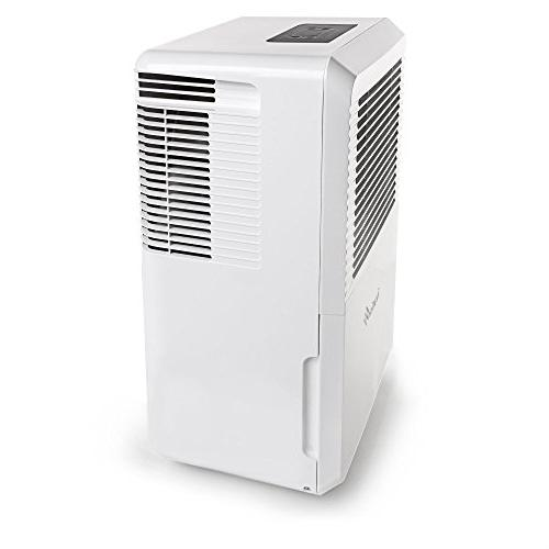 Ivation Energy Star - Large-Capacity For Spaces 4,500 Includes Connector, Auto Shutoff/Restart, Casters & Air Filter, White,