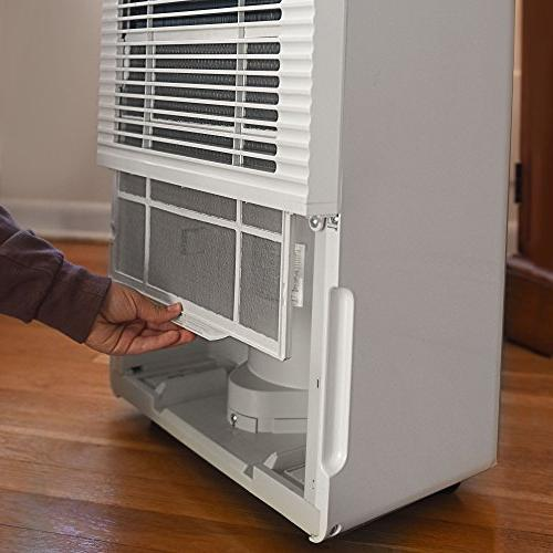 Ivation Pint Star Dehumidifier - For Spaces Up 4,500 Sq Ft Connector, Auto & White,
