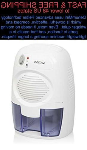 Ivation IVADM10 Powerful Small-Size Thermo-Electric Dehumidi