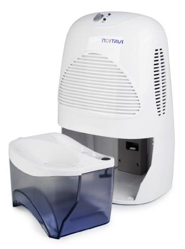 Ivation Thermo-Electric Dehumidifier Quietly Gathers 20 Ounces of Day for Bath Room, Rv - for Spaces To Cubic