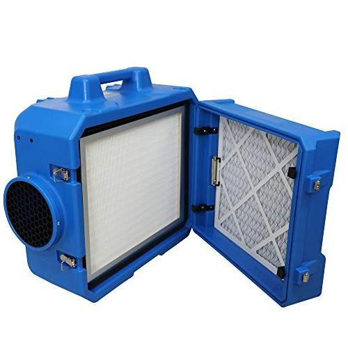 MOUNTO Air Scrubber Filter Renovation Cleaner Dust