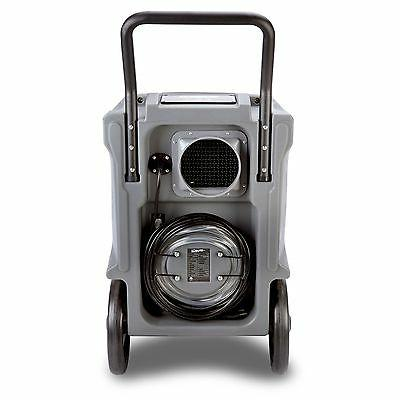 BlueDri BD-130P 225PPD Performance Commercial Dehumidifier Grey