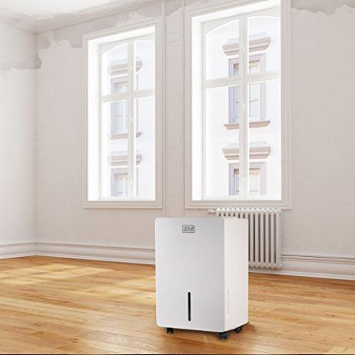 BLACK+DECKER BDT50WT Energy Portable Dehumidifier, White
