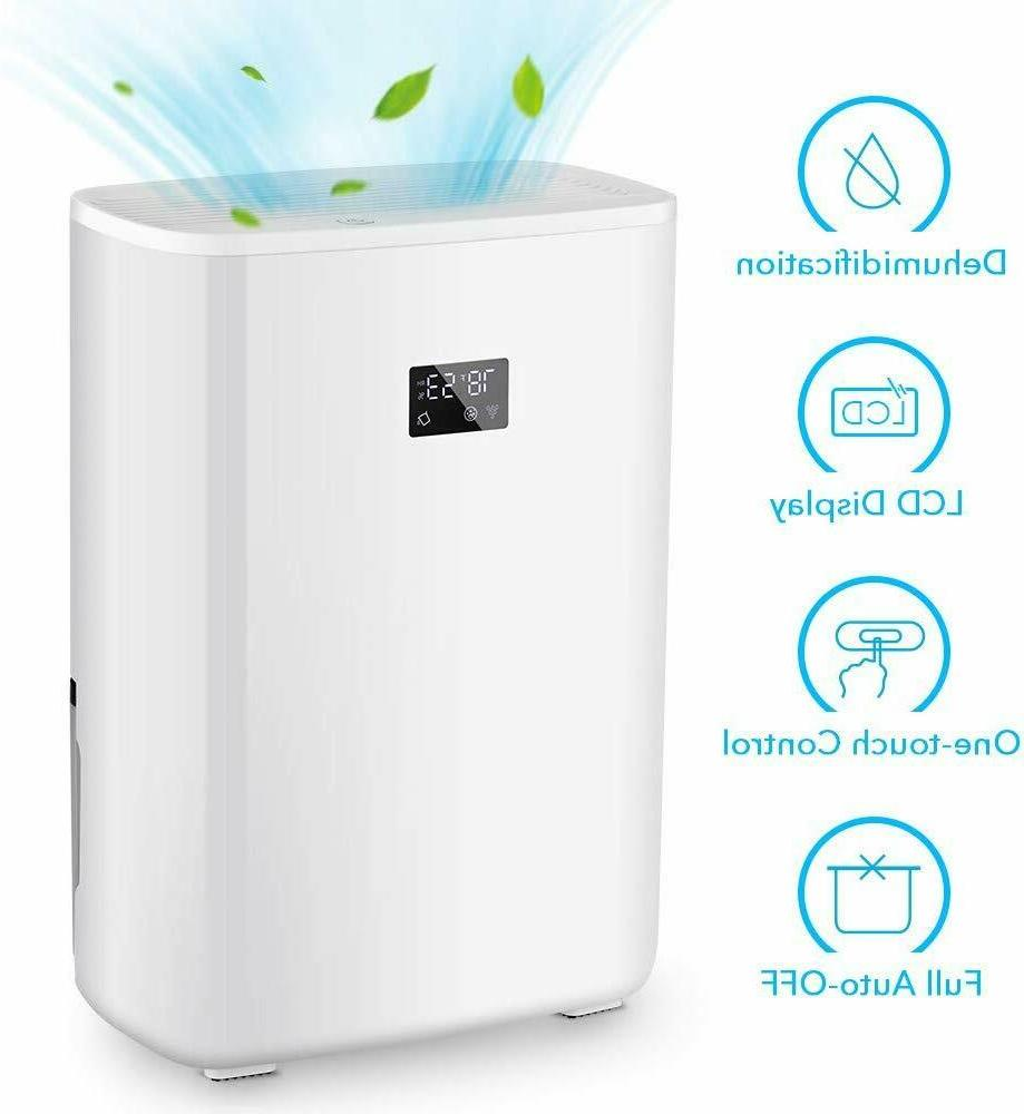 digital electric dehumidifier and ionizer 5 pint