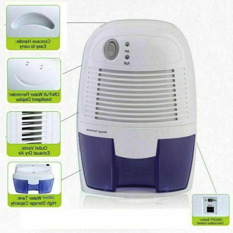 electric 500ml home air dehumidifier quiet moisture