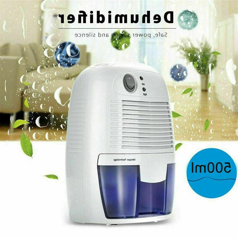 Electric 500ml Home Dehumidifier Moisture Absorber Drying f