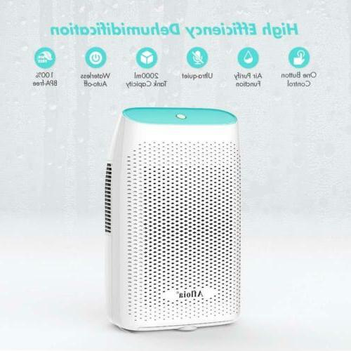 Afloia Dehumidifier Home 2000ML,Portable