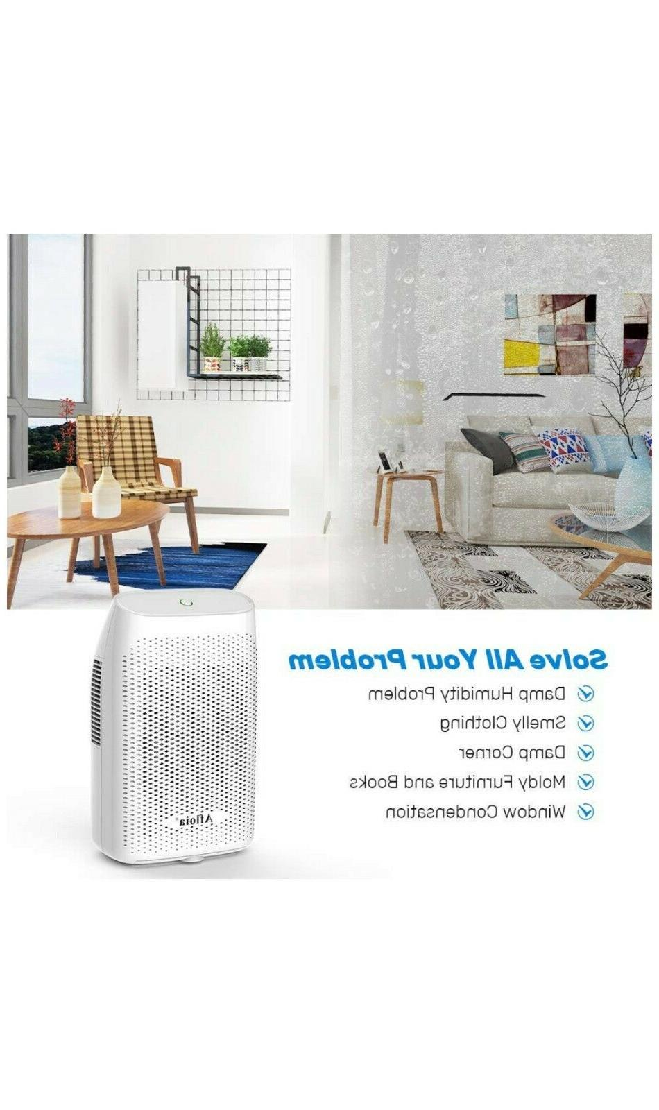 Afloia Electric Dehumidifier Portable for Bedroom Kitchen Bathroom