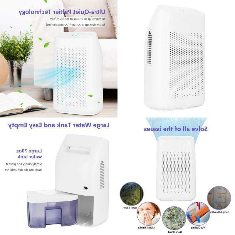 electric small dehumidifier with 70 oz capacity