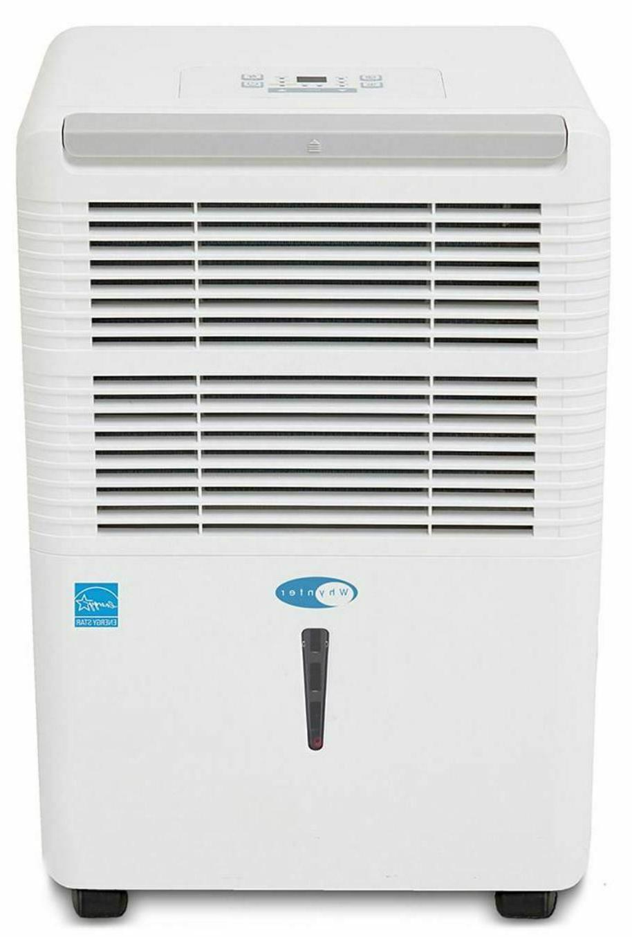 energy star 40 pint portable dehumidifier white