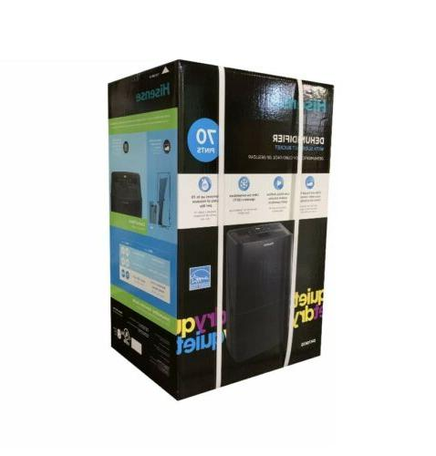NEW IN 70-Pint 2-Speed Energy Star Dehumidifier,