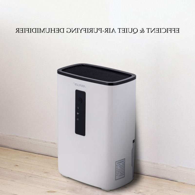 New Ultra-Quiet Compact Dehumidifier with UV Light for Home,