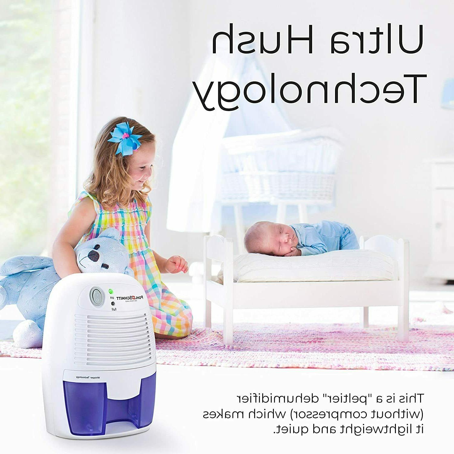 Portable Mini Dehumidifier Removing Air Bathroom Ultra