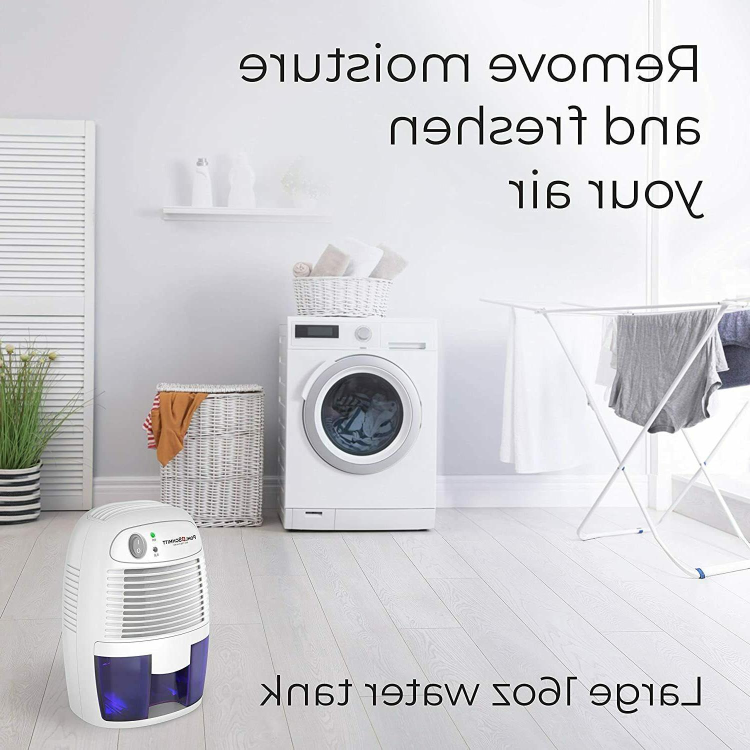 Portable Mini Dehumidifier Removing Air Bathroom