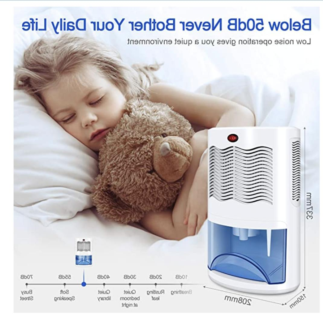 Small Dehumidifier with Removes & Hum