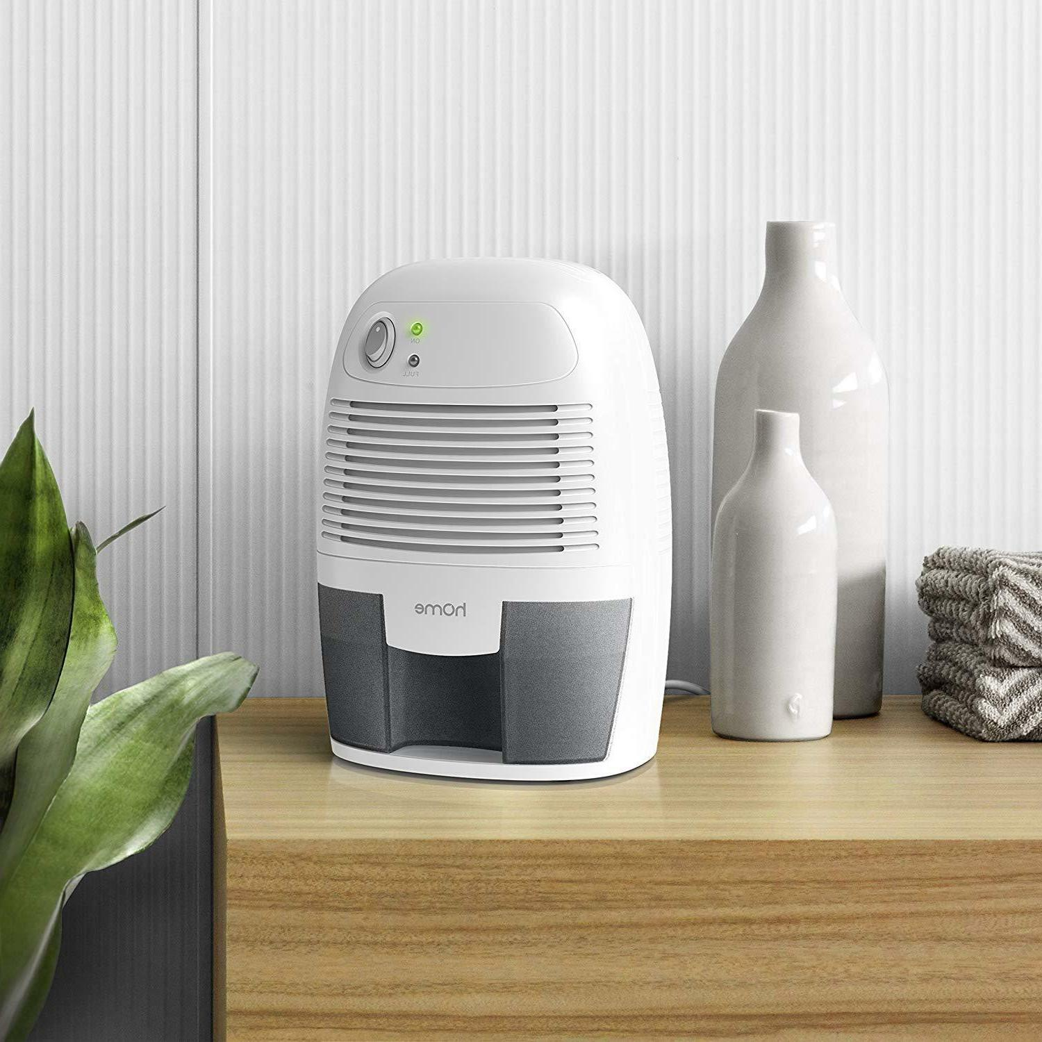 hOmeLabs Small Dehumidifier with Auto Shut-Off - Quietly