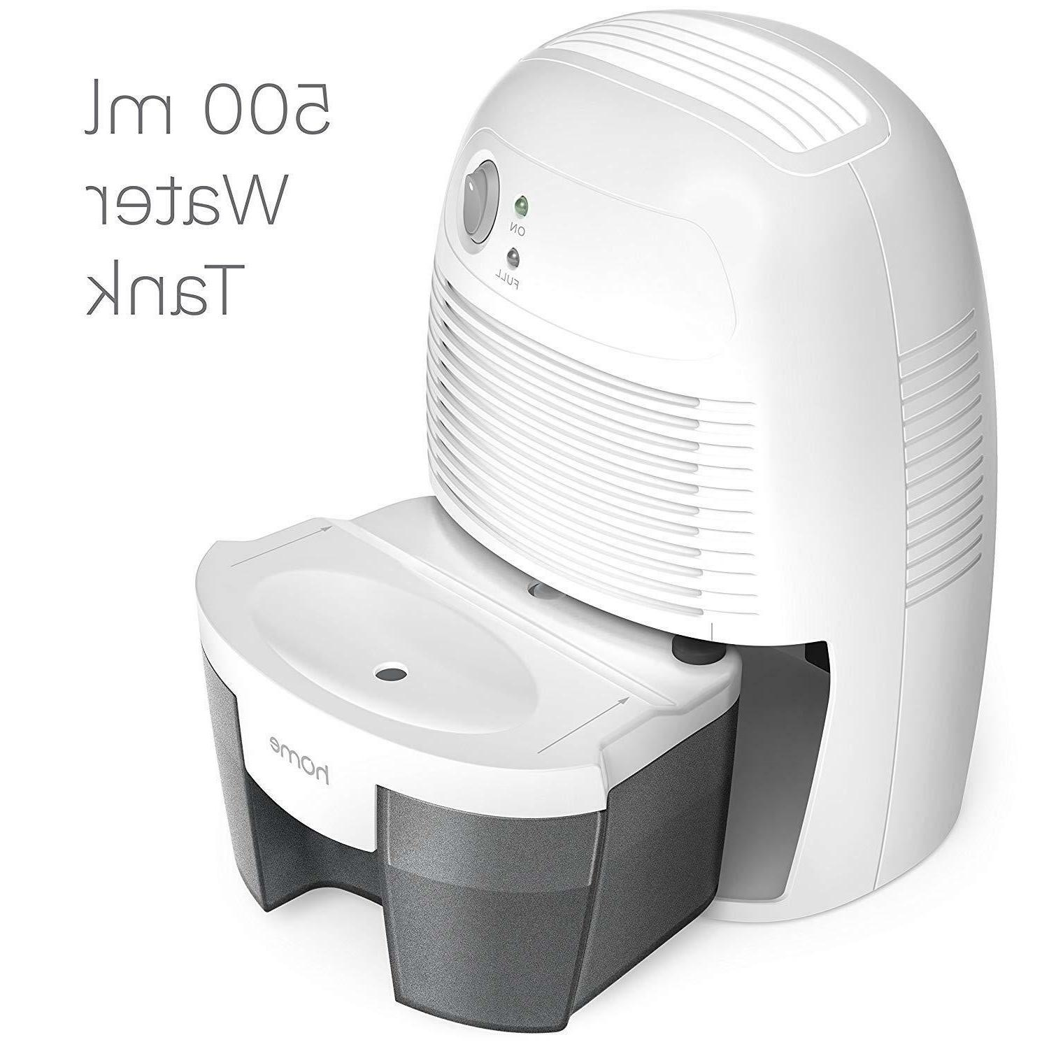 hOmeLabs Space Dehumidifier with Shut-Off Quietly Extracts