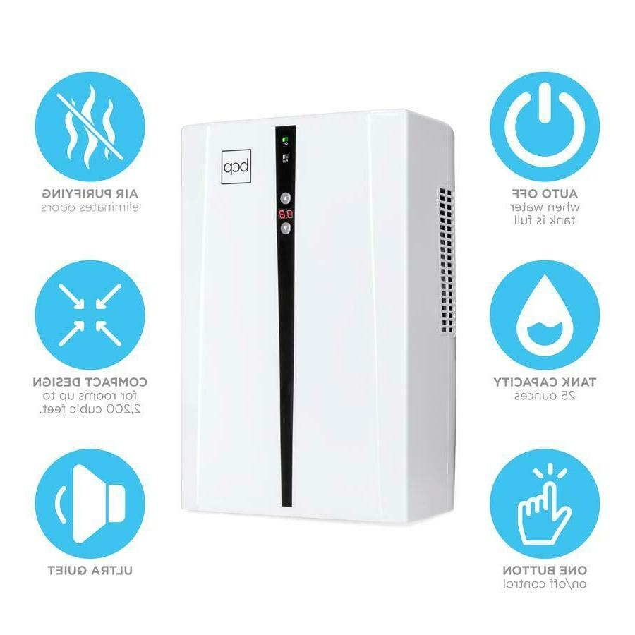 Thermo-Electric Dehumidifier Tank Auto Air Quality