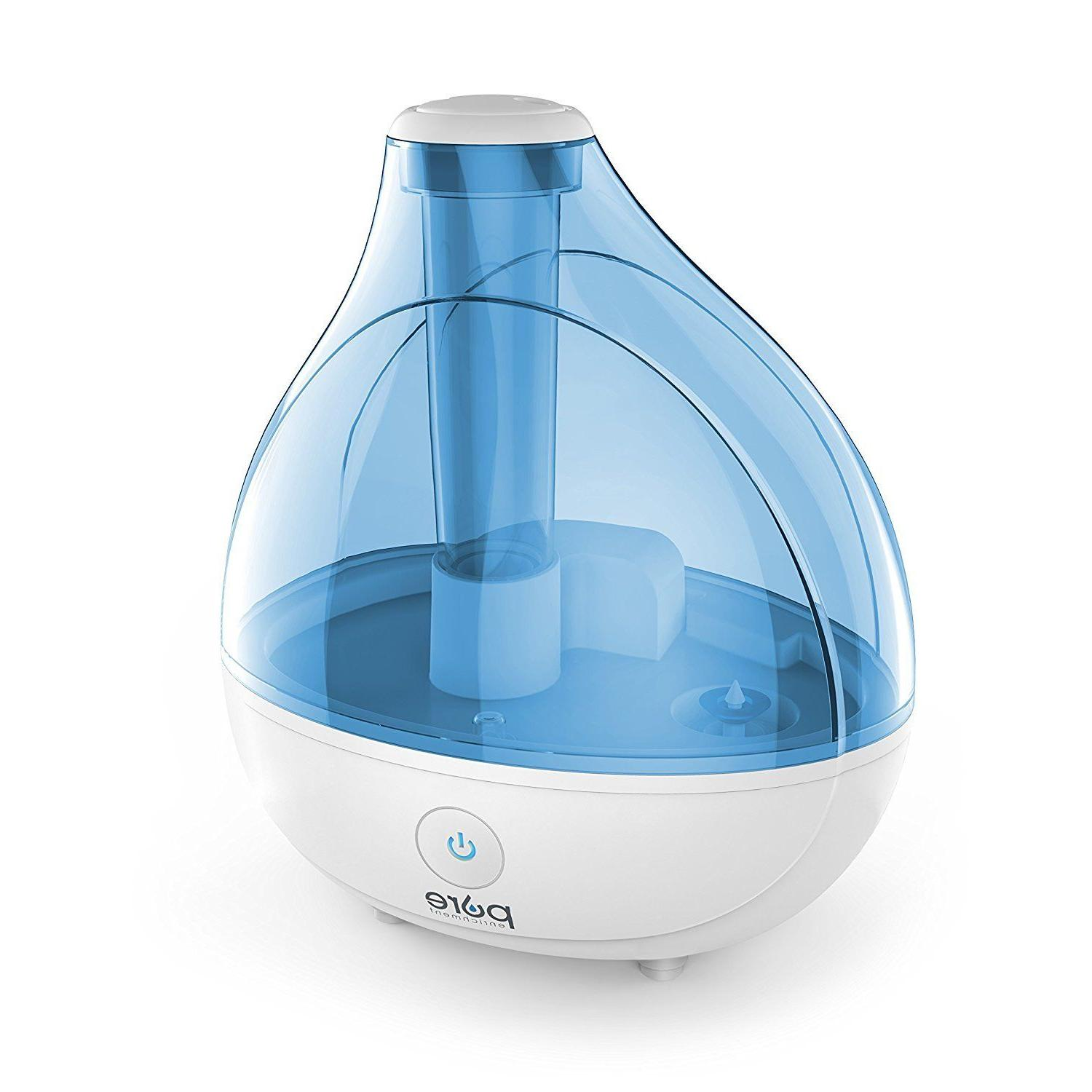 ultrasonic cool mist humidifier 1 5l white
