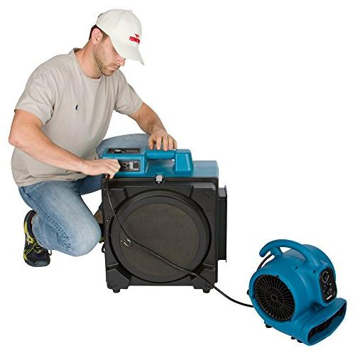 Stage Purifier Airbourne Power Outlets for Damage Use