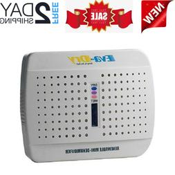 Mini Dehumidifier New and Improved Eva Dry E-333 Renewable