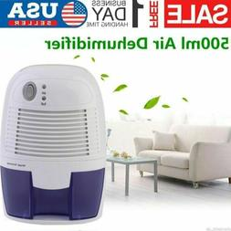 Mini Electric Portable Air Dehumidifier 500ml Capacity For R