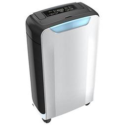 Eurgeen Compact 20 Pint Portable Dehumidifier with Humidity